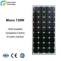 家庭用の高品質 130W 140W 150W 太陽光発電パネルモノおよびポリ結晶