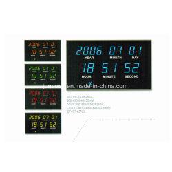 자동 라디오 기능 시간 설정 전자 LED 디지털 달력 시계