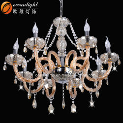 مصباح بندول كلاسيكي تقليدي عالي الجودة ثريا من البحر الأبيض المتوسط ضوء شمعة 88009-6