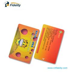 Impressão personalizada 13.56MHz ISO15693 RFID cartão pré-pago de PVC Sli Icode
