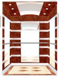 [سمر] [مرل] مسافر مصعد مصعد مقصور خشبيّة
