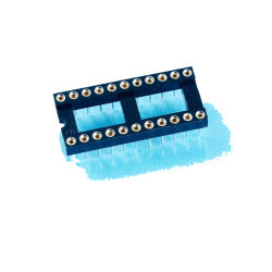 IC Contactdoos - ONDERDOMPELING 2.54mm Hoogte om IC Contactdoos