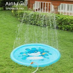 La stuoia di acqua esterna di estate del rilievo dello spruzzatore della stuoia scherza il rilievo gonfiabile dello spruzzatore della spruzzata dei giocattoli