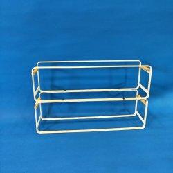 رف حامل تخزين المداس سهل الاستخدام من 3 مستويات قابل للضبط