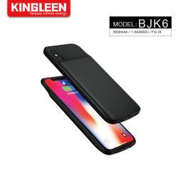 휴대용 충전기 전화 배터리 케이스 iPhone X, 3600mAh 충전식 배터리 팩 보호 충전 케이스 iPhone X