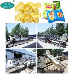 Чипсы производственной линии картофеля машины стружки