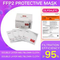 Gezichtsmasker deeltjesfilter FFP2 CE En149: 2001+A1: 2009 Ffp2nr
