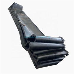 Kohle-Zufuhr-Gummiförderband für kleine industrielle Maschinerie