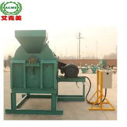 Rotory tambor de separación de fibra de cáscara de coco y abrir la máquina