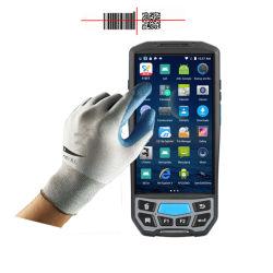 Lecteur de NFC Portable longue plage de scanner de code à barres Smart mobile Android de collecte de données Terminal portable