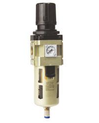 La serie Hi Filtro de aire FRL Manómetro Regulador de la Embedded