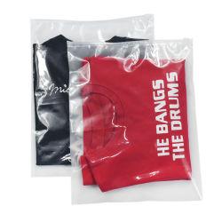 Transparent en PVC/PE/EVA/PP sac ziplock personnalisé Matte curseur dépoli Vêtements Vêtements de l'emballage en plastique Sac à fermeture éclair