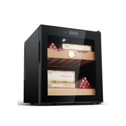 46L'étagère en bois de cèdre sans compresseur électronique cigare en bois Cabinet