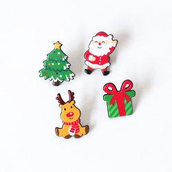 عيد الميلاد هدية بروشز زينة الشارات إكسسوارات دبابيس طوق دبابيس
