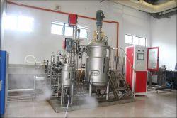 Escala piloto tanque fermentador microbiana em aço inoxidável