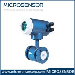 I liquidi esatti del serbatoio di acqua hanno sprecato il contatore elettromagnetico personalizzato DN50 di trattamento di acque luride MFE600