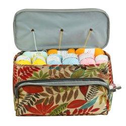 温水販売防水レジャーニットバッグ高品質耐久性糸 収納オーガナイザートートバッグ