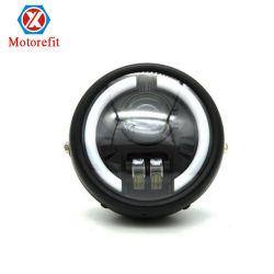 Harley Moto Retro de rattrapage LED clignotants feux de route projecteur intégré