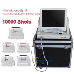 A0209 Высокая интенсивность основное внимание уделялось ультразвукового оборудования Hifu косметического слоя поверхности подъемника