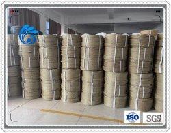 Синий цвет 3/4 ветви витая PP PE нейлоновой веревки пластиковые веревки для упаковки и рыболовство