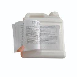 マルチ層のフォールドによって印刷される自己接着パンフレットの小冊子命令ラベル
