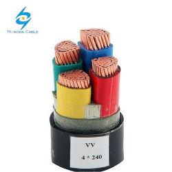 قائمة أسعار كبل الطاقة منخفض الجهد كبل XLPE المعزول 90c 4 سم × 50 مم2
