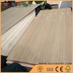 Teak Natutal Veneer Laminaat Fancy Plywood Voor Meubels En Decoratie