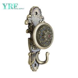 Le clip ajustable embrasse de haute qualité mur rideau de douche crochet métalliques décoratifs