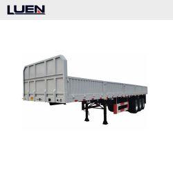 Luen 2 utilitário roda Reboque 45FT despejo de mesa Containertrailer Caixa basculante caminhão com bloqueio do contêiner com 3 eixo norte-americano de Carga Dobrável contentor semi reboque veículo