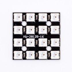 4 * 4 Ws2812b 5050 RGB LED Vollfarben-Treiberleuchten Entwicklungsplatine