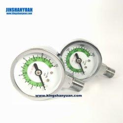 Fixação traseira pequena pequeno medidor de pressão para o Extintor de Incêndio