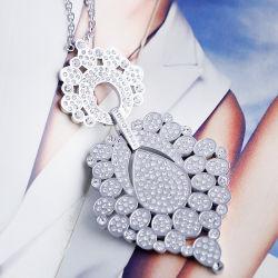 El amor de cristal de Estrella de la Diamond Necklace