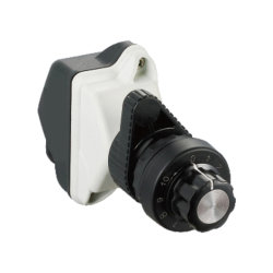 Imperméable IP66 bouton rotatif Explosion-Proof de type Potentiomètre monotour