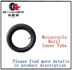 Excelente calidad de la naturaleza Capas de Caucho de butilo Motocicletas/neumáticos el tubo interior 4.00-8 3.00-8 3.00-18 3.00-17 2.75-18 2.75-17