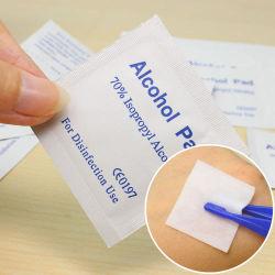 Carta speciale da imballaggio per compresse di cotone al 75% di alcol