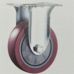"""3 """" Rajustement charge moyenne avec un seul roulement Zn-Plating /Roulette polyuréthane"""