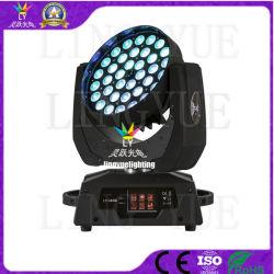 Zoom 36x10W conduit Moving Head Wash DJ Disco de lumière à LED
