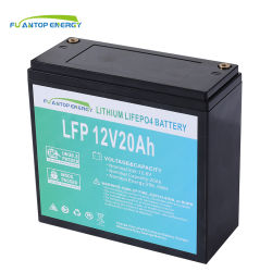بطارية ليثيوم دورة عميقة 12V12AH 20ah 24ah LFebO4 ليثيوم أيون البطارية مع علبة نظام الفرامل المانعة للانغلاق