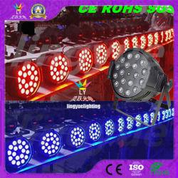무대 조명 줌 파 64 18X18W Rgbwauv LED