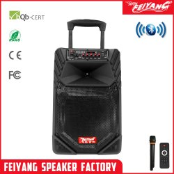 Feiyang Temeisheng Bateria Carrinho Portátil Karaoke Conexão sem fio de alto-falante