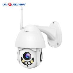 Zoom óptico 5X 1080P IP Wireless WiFi mini cámara domo PTZ de exterior