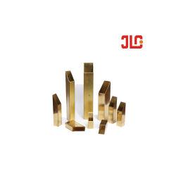 두께 0.5mm ~ 12mm의 장식용 ASTM B135 황동 튜브 스퀘어