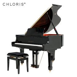 Prezzo competitivo popolare modello Nero Baby Grand tastiera piano Hg-152e 88 tasti