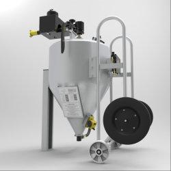 Mobile máquina de chorro de agua a alta presión al aire libre, Equipos de limpieza con arena de la serie dB/moviendo la arena mojada de la herramienta de limpieza