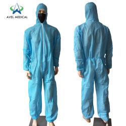 Prêt à expédier une livraison rapide des vêtements de protection jetables non tissé