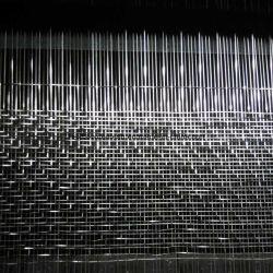 Tempered 박판으로 만들어진 유리를 위한 길쌈된 직물 능직물 직물 철망사