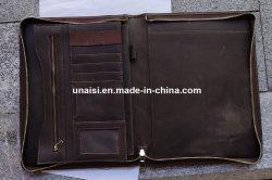 [أ4] جلد وثيقة محفظة يحمل منام حالة لأنّ عمل سفر