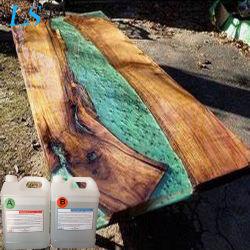 Claro de fundición de resina epoxi de resina epoxi de madera mejor arte