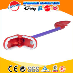 Producto Promocional práctico agarrador de dientes de dinosaurio de plástico juguetes para niños