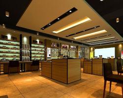 Gros Détail boutique moderne en bois Boutique de Lunettes Les lunettes de soleil étagère d'affichage